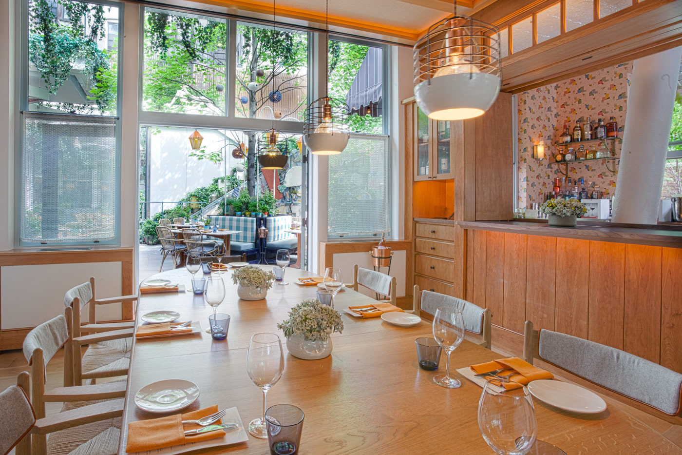 Narcissa Private Dining Room At The Standard, East Village   Tchelistcheff  Architects